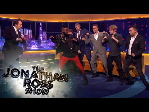 "Jason Derulo - ""Get Ugly"" Dance Tutorial - The Jonathan Ross Show"