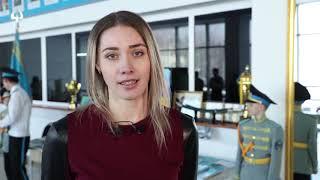 """Акция """"Тәуелсіздік ұрпақтары"""" открыла год молодёжи в Усть-Каменогорске."""
