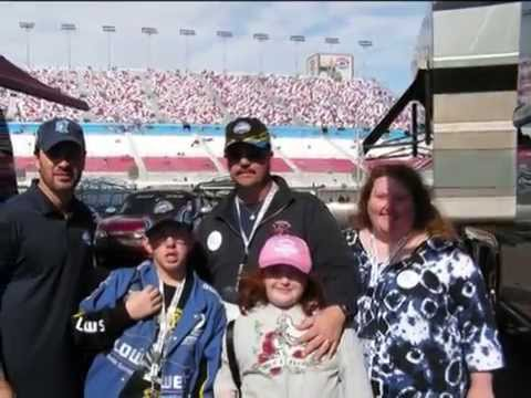 Soriority - Jason Bray and his family flew to Las Vegas to meet Jimmie Johnson. The Make A Wish Foundation and the Chi Omega soriority from UNCG in Greensboro,NC garnted...