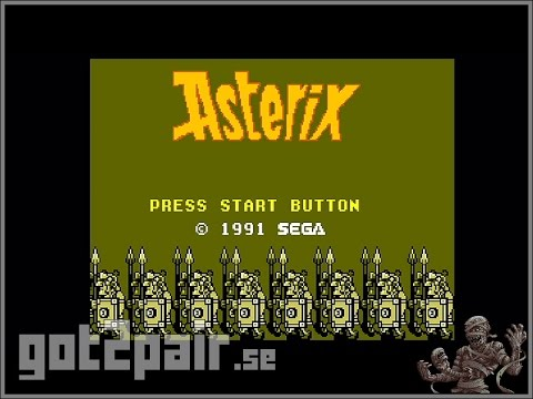 Asterix - Master System