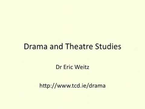 Drama und Theaterwissenschaft