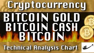 BITCOIN GOLD : BITCOIN CASH : BITCOIN Update CryptoCurrency Technical Analysis Chart
