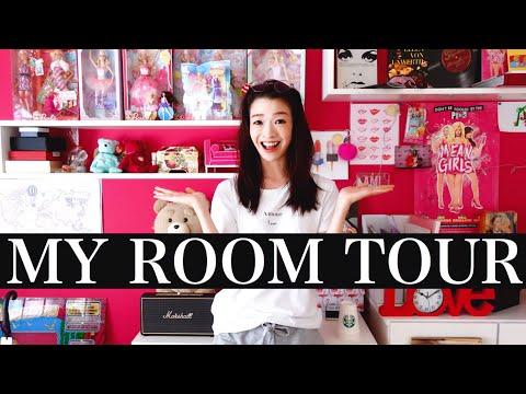 MY ROOM TOUR 2018【BarbieとPINKを愛する私のお部屋紹介】 видео