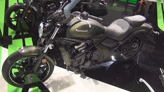 2. Kawasaki Vulcan S Green Metallic Matte Covert (2019) Exterior and Interior