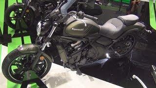 5. Kawasaki Vulcan S Green Metallic Matte Covert (2019) Exterior and Interior