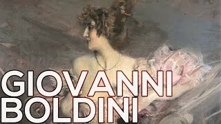 """Description: """"Born in Ferrara, Italy on 31st December 1842, Boldini received his initial training from his father, a painter and..."""