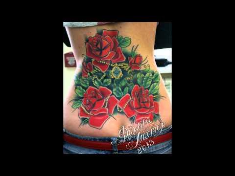 проститутка роза тату