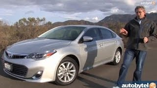 http://www.autobytel.com/toyota/avalon/2014/prices/?id=32972 The 2014 Toyota Avalon is a big, roomy, fuel efficient car with some nice luxury amenities. The ...
