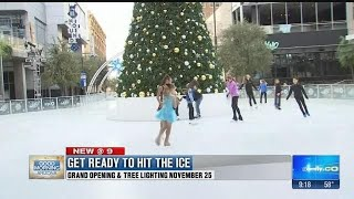 Valley's largest outdoor ice rink, CitySkate opens