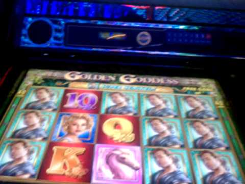 Golden Goddess (IGT) Video Slot Machine Bonus Win