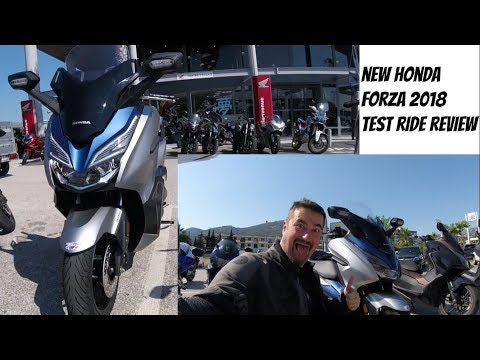 New Honda Forza 2018-2019 125cc Test Ride And Review