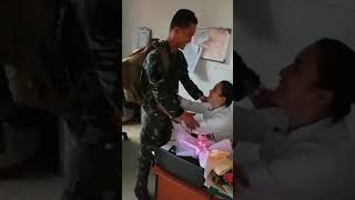 LDR....when an Army Surprise His Chef Girlfriend at workplace