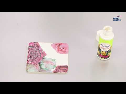 Make your own Decoupage Coasters Kit