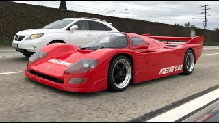 The Koenig C62 is a $1.5M, Street-Legal, Porsche LeMans Racer - One Take by The Smoking Tire