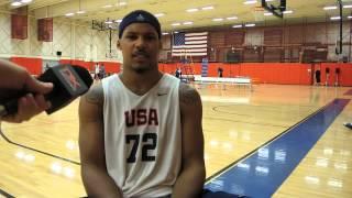 Jarnell Stokes Interview at USA Basketball U19 World Championship Tryouts