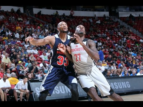 houston - Check out all of the best highlights as the Atlanta Hawks take on the Houston Rockets at the 2014 Las Vegas Summer League. About the NBA: The NBA is the premier professional basketball league...