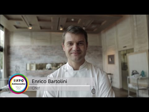 Expo 2015 Chef Ambassador Enrico Bartolini eng