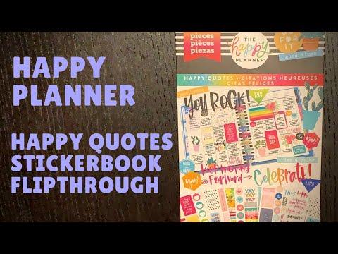 Happiness quotes - Happy Quotes Stickerbook Flipthrough