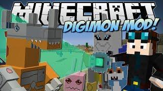 Minecraft   DIGIMON MOD! (Digivolve, Collect & Battle!)   Mod Showcase