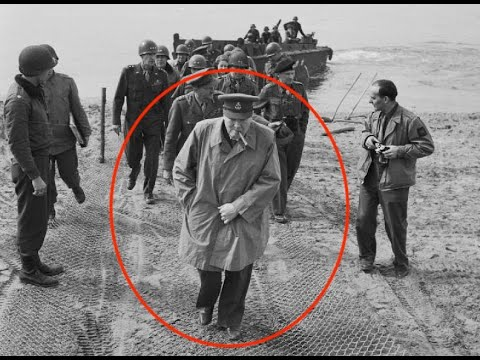 Winston Churchill - Nearly Killed by the Germans in 1945