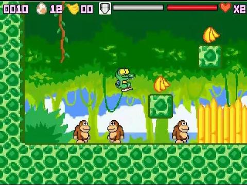 GAME PARK GP32 Crocodingus in Crocoland PD GAME