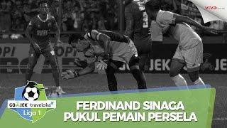 Video Baru Main 5 Menit, Ferdinand Sinaga Pukul Pemain Persela MP3, 3GP, MP4, WEBM, AVI, FLV Oktober 2018