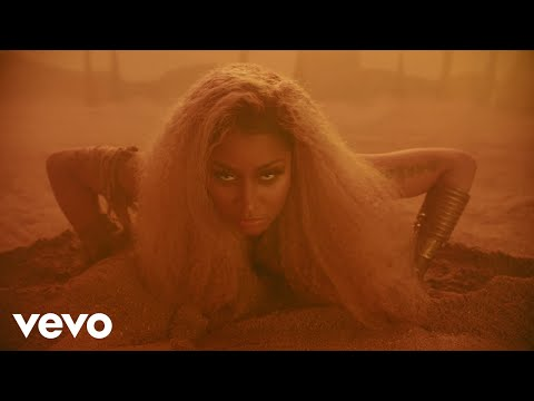 Nicki Minaj - Ganja Burn (видео)