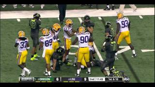 LaMichael James vs LSU (2011)
