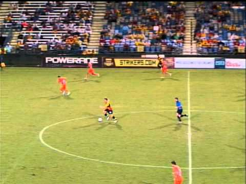 Strikers vs RailHawks 8/11/12