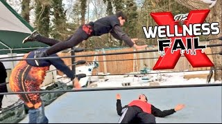 CRAZY KID RISKS IT ALL IN 4 ON 1 WRESTLING CHAMPIONSHIP CHALLE...