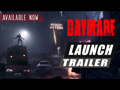 DAYMARE: 1998 - Release trailer - PlayStation 4, Xbox One de Daymare 1998