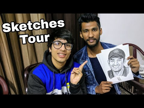 Sketches Tour 😍 Artist Shubham Dogra