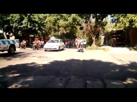 Huracan Las heras Vs Independiente Riv.(Asi Sale al estadio La Banda N°1) - La Banda Nº 1 - Huracán Las Heras