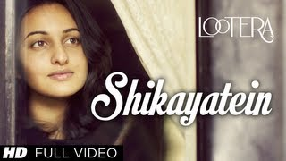 Nonton Shikayatein Lootera Full Video Song | Sonakshi Sinha, Ranveer Singh Film Subtitle Indonesia Streaming Movie Download