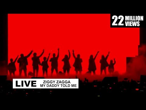 Ziggy Zagga, My Daddy Told Me Live Performance