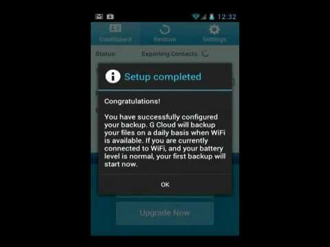 0 G Cloud Backup Automatic and Free Backup App for Android