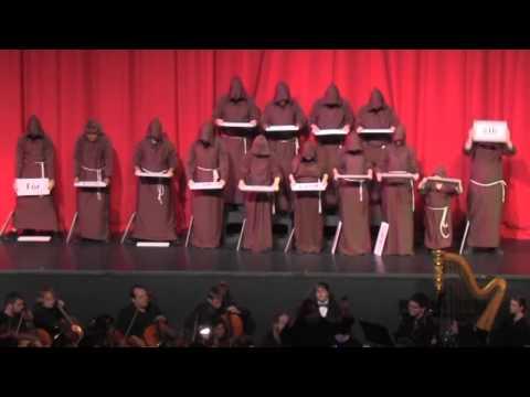 Video 2012 Christmas Gala:  Hallelujah Monks download in MP3, 3GP, MP4, WEBM, AVI, FLV January 2017