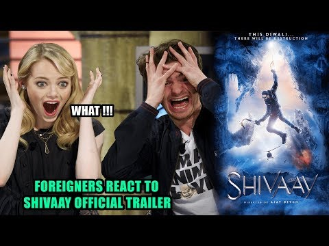 Foreigners React to Shivaay Official Trailer   Ajay Devgn