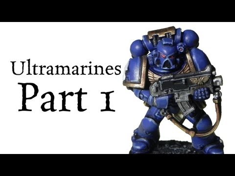 how to paint space marines - In this video I show you how I painted an Ultramarine Space Marine for Warhammer 40k miniatures. The tutorial is made with games-workshop new citadel color R...