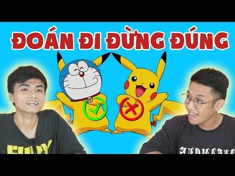 ĐOÁN ĐI ĐỪNG ĐÚNG | Thân phận thật sự của Pikachu là Doraemon?? - NTVP - Thời lượng: 6:02.
