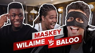 Video WILAIME vs BALOO - MASKEY MP3, 3GP, MP4, WEBM, AVI, FLV Juli 2017