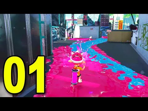 Splatoon 2 - Part 1 - MY FIRST GAME EVER!