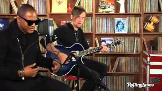"Acoustic version ""Hangover"" by Taio Cruz in the Rolling Stone studio"