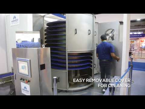 Spiral Freezer - Midwest Food Technology