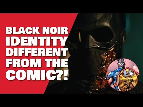 Black Noir The Boys Identity Explained  - It's Not Who You Think It is!