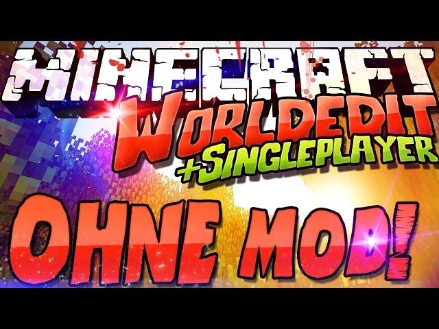 Worldedit Commands OHNE Mod Plugin Minecraft Multi Single - Minecraft server erstellen himgames