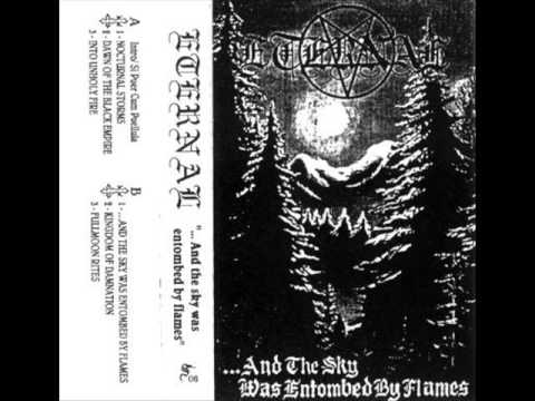 Eternal - ...And the Sky Was Entombed By Flames (1996) (Black Metal Uruguay) [Full Demo]
