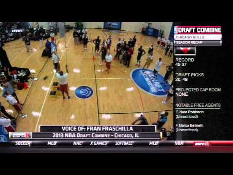 Diehardsport.com-Tony Mitchell NBA Combine_Basketball. NBA, National Basketball Association best videos. Sport of USA, NBA