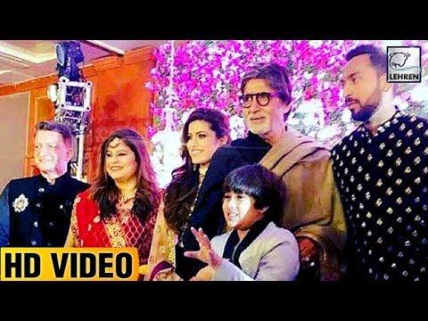 Amitabh Bachchan At Krunal Pandya's Wedding Recept