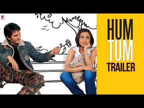 Hum Tum   Official Trailer   Saif Ali Khan   Rani Mukerji